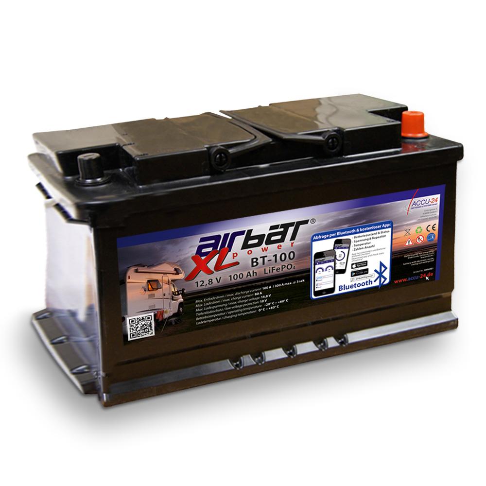 Versorgungsbatterie für Wohnmobil mit Wechselrichter
