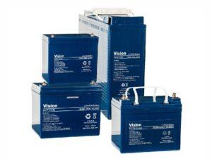 Gruppenbild 4 Lithium Versorgungsbatterien